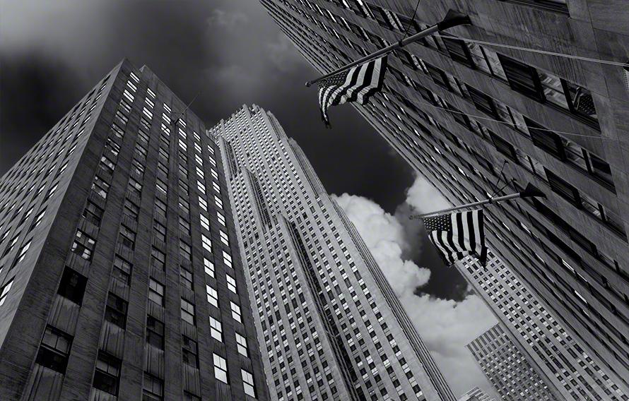 New York City building photo art print