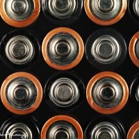 Abstract battery art photo