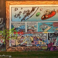 comic strip graffiti photo