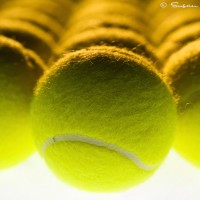 tennis balls still life photo print