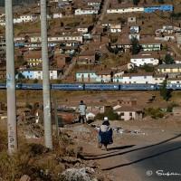 local scene from Peru