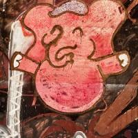 piglet graffiti art print