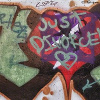 just divorced graffiti photo