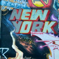 new york graffiti drawing