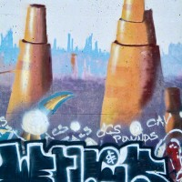 silos graffiti drawing photograph