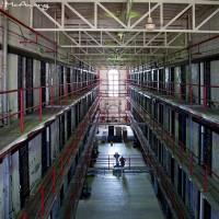 prison block photograph