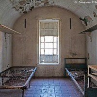 prison cell interior photograph