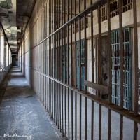maximum security cells in prison photograph