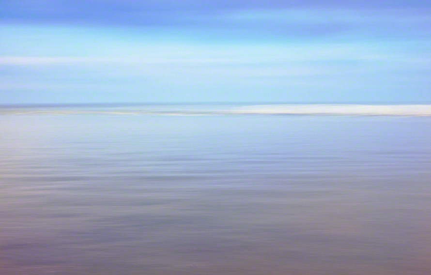 abstract water and sandbar print