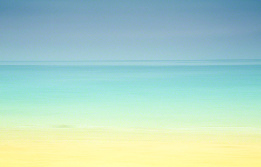 waves of Gulf of Mexico abstract photograph