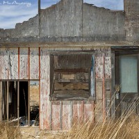 deserted building in Arizona