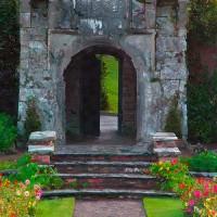 pavillion and garden in Ireland