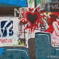 love graffiti art photo print