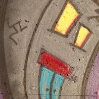 graffiti house drawing photograph