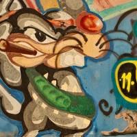 beaver graffiti drawing photograph