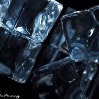 cubes on black
