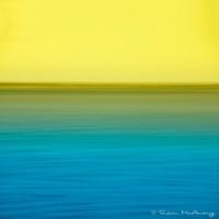 coastal waters abstract photo of sarasota bay