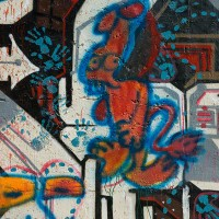 colorful graffiti art