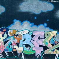 graffiti symbols art print