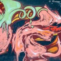 abastract shapes and symbol graffiti
