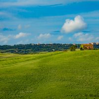 Landscape photograph from Tuscany.