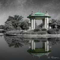 gazebo in Forest Park,